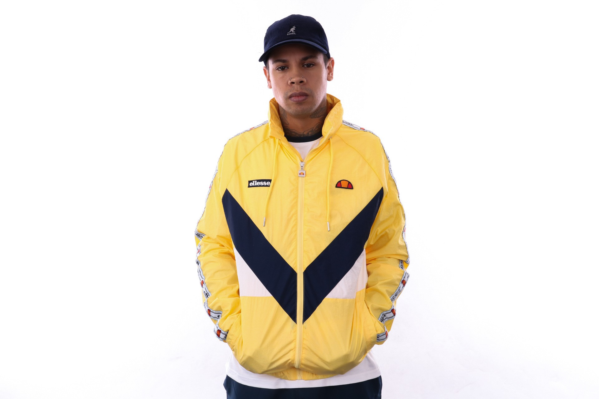 Foto van Ellesse Gerano SHA05326 Tracktop Light Yellow
