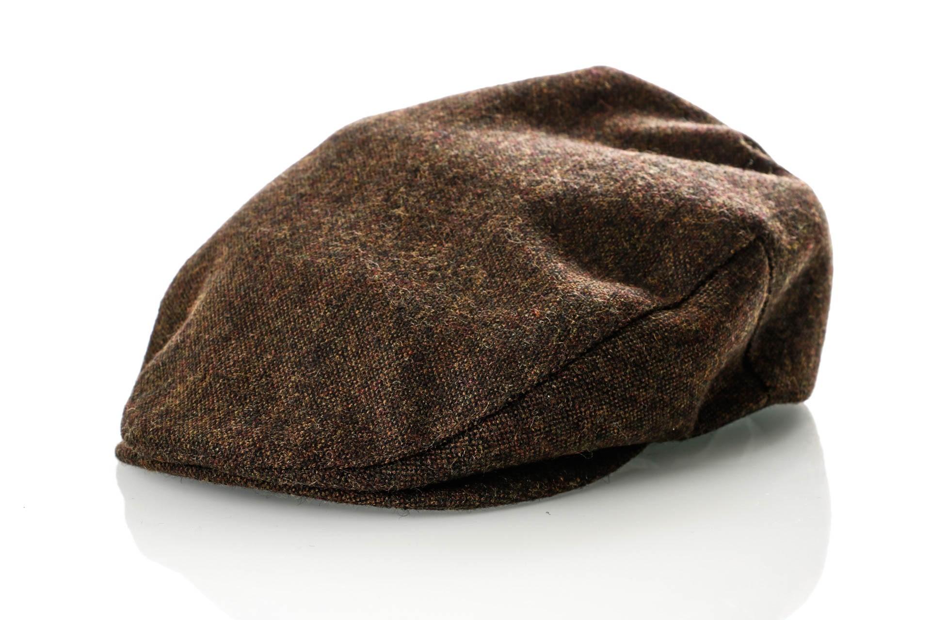 Foto van Brixton HOOLIGAN SNAP CAP 5 Flatcap DARK BROWN