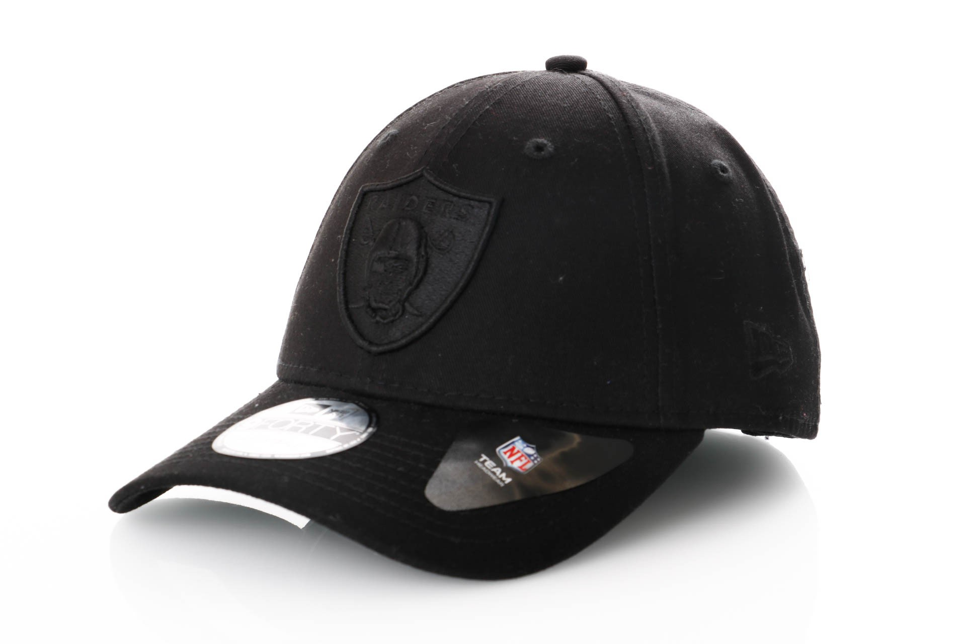 Foto van New Era 9Forty Snapback 11871670 Dad Cap Black/Black Nfl Oakland Raiders