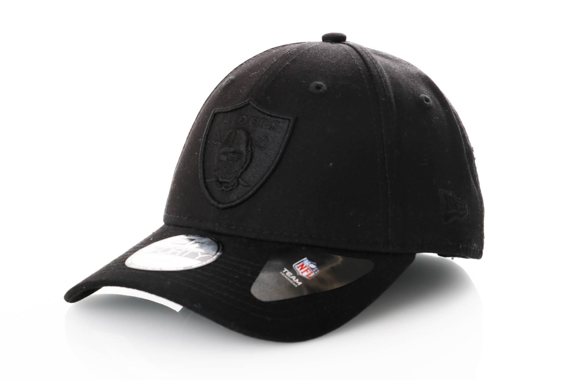 Foto van New Era 9Forty Snapback 11871670 Dad Cap Black/Black Oakland Raiders
