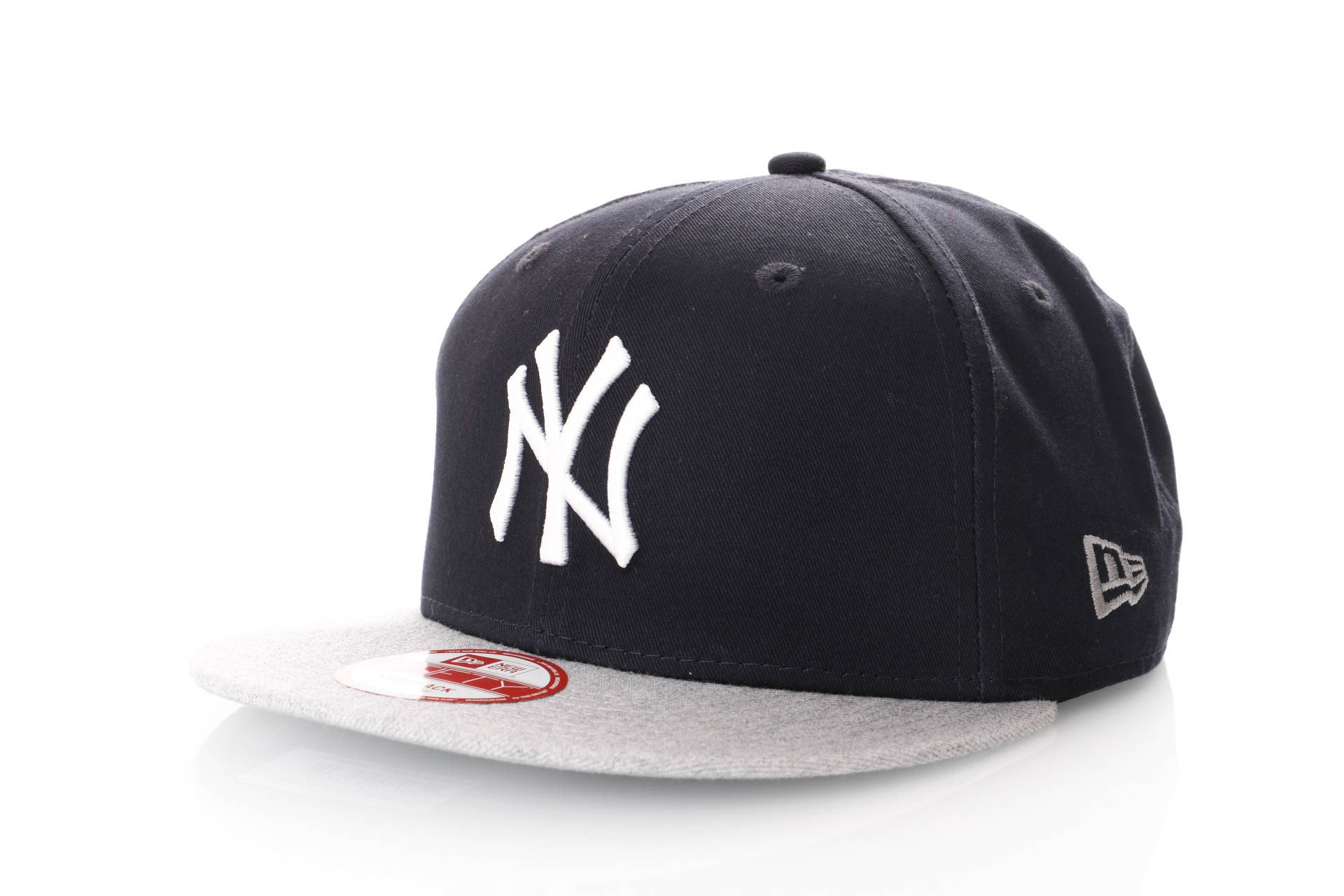 Foto van New Era Team Snap 80212913 Snapback Cap Black/Grey Ny