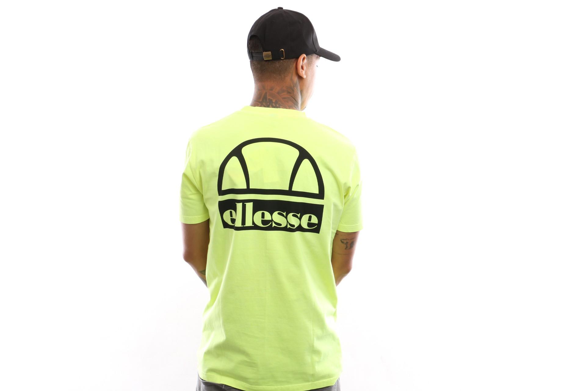 Foto van Ellesse Cuba Shb06831 T Shirt Neon Yellow
