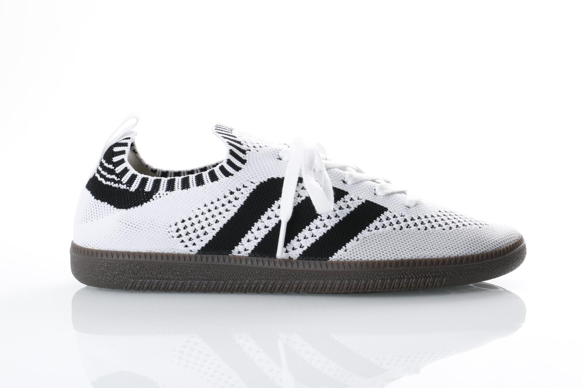 Foto van Adidas Originals CQ2217 Sneakers Samba PK sock Wit
