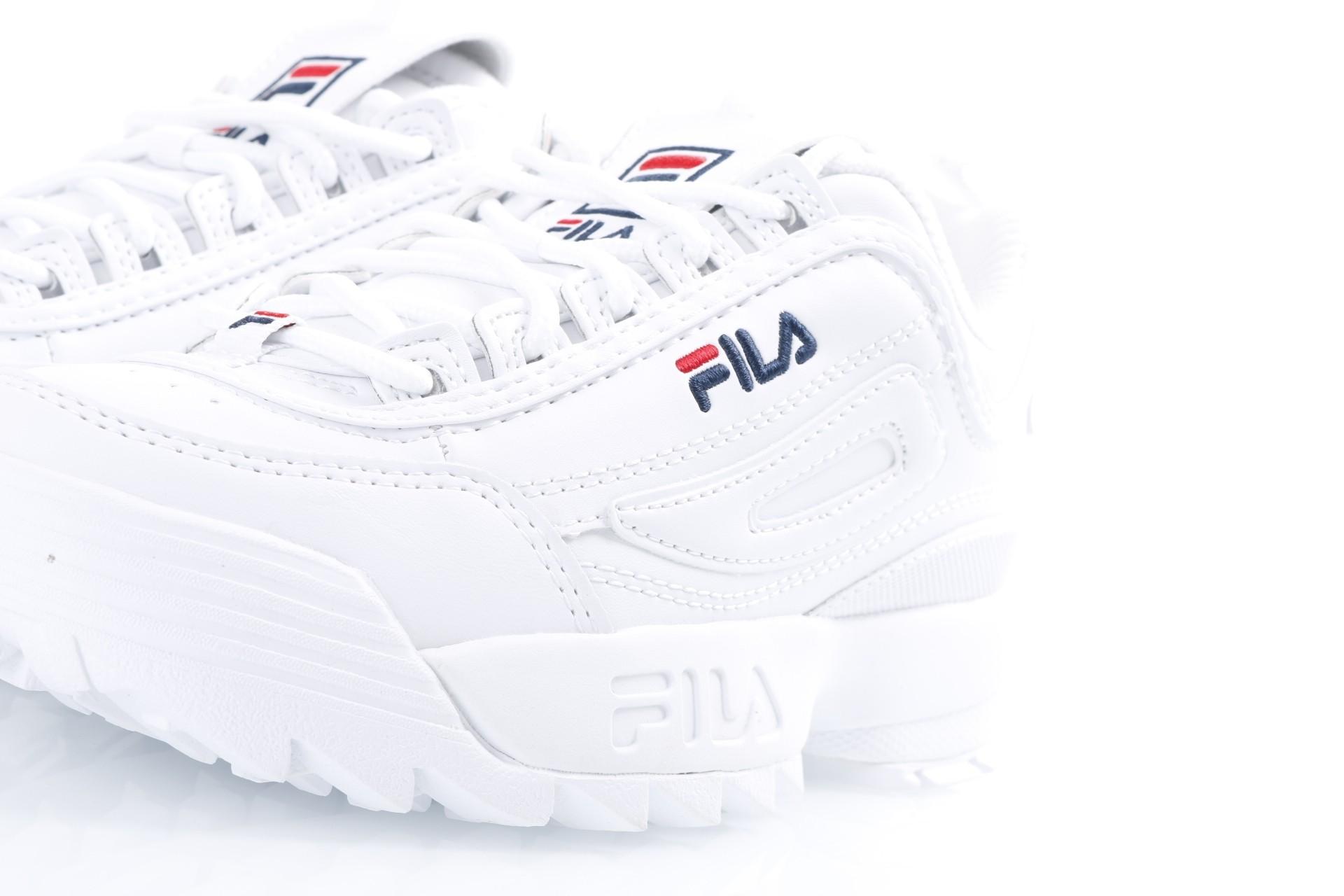 b0712cf1bd8 Fila Ladies 1010302-1FG Sneakers Disruptor low White - Go-Britain.nl