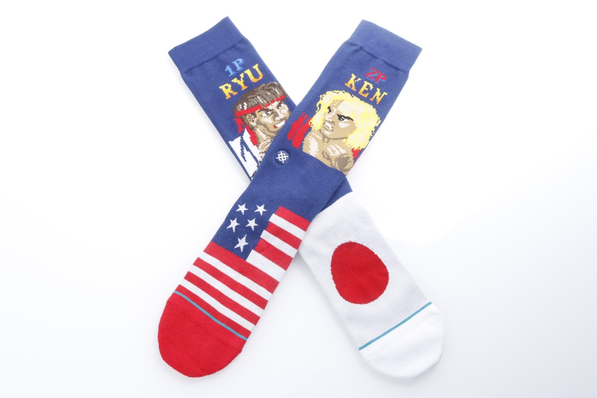 Foto van Stance M545A18RYU Socks Ryu vs ken Blauw