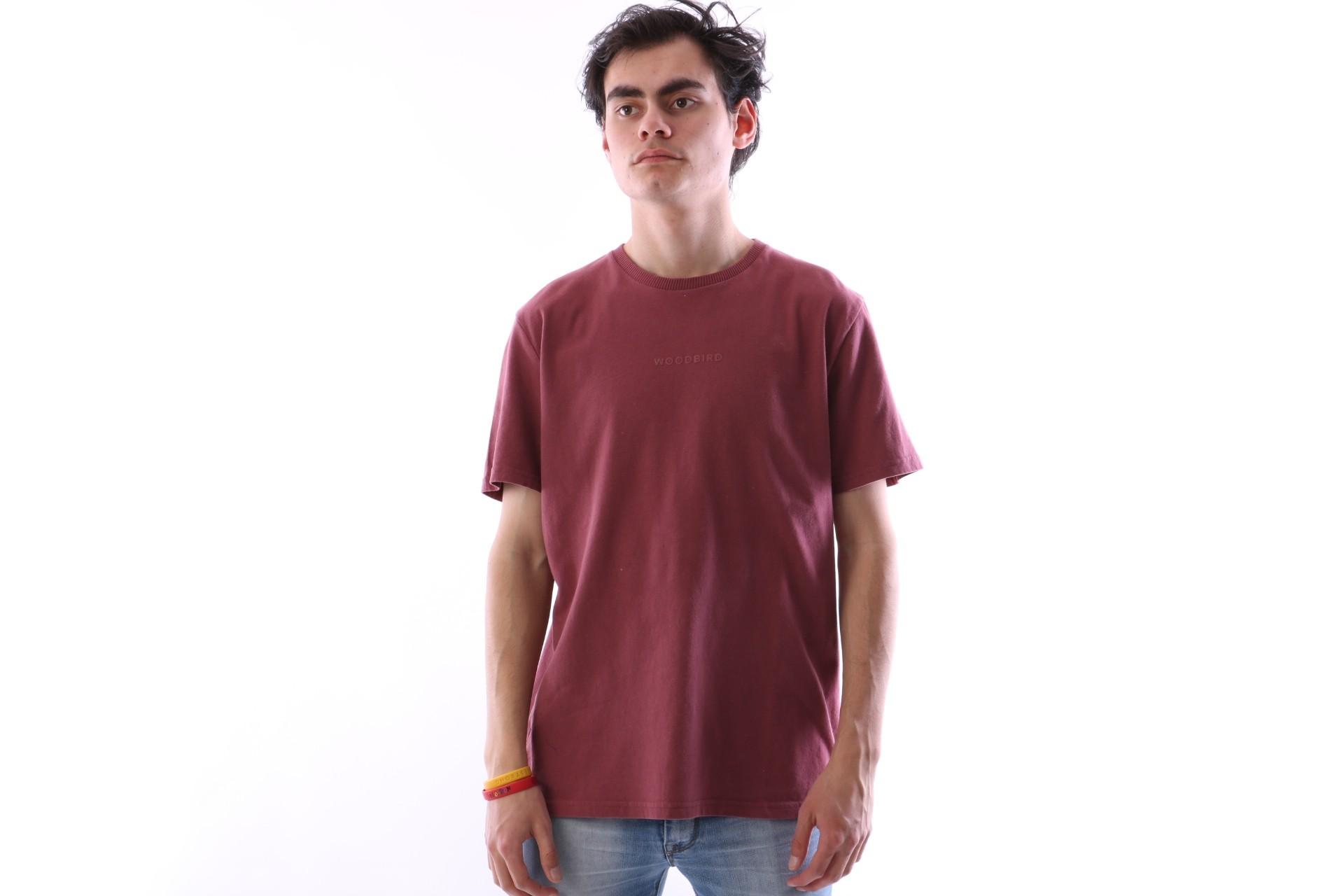 Afbeelding van Wood Bird 1746-403 T-shirt Jack sign Roze