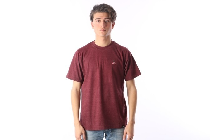 Foto van Rib.Eye.Steak RES-FW17-005 T-shirt Meat & knife Bruin
