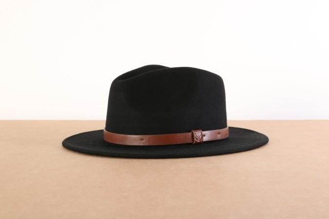 Foto van Brixton 00136-BLACK Hat Messer Zwart