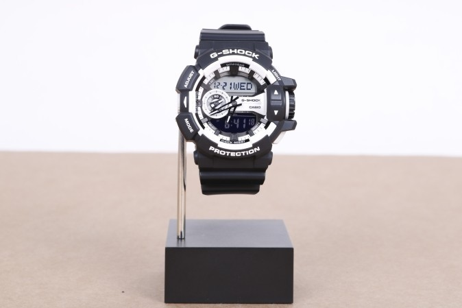 Foto van Casio G-Shock GA-400-1AER Watch GA-400 Zwart