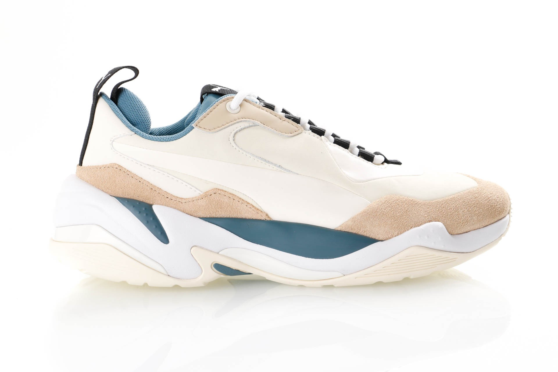 Foto van Puma Thunder Nature 370703 Sneakers Pale Khaki-Cloud Cream-Bluestone