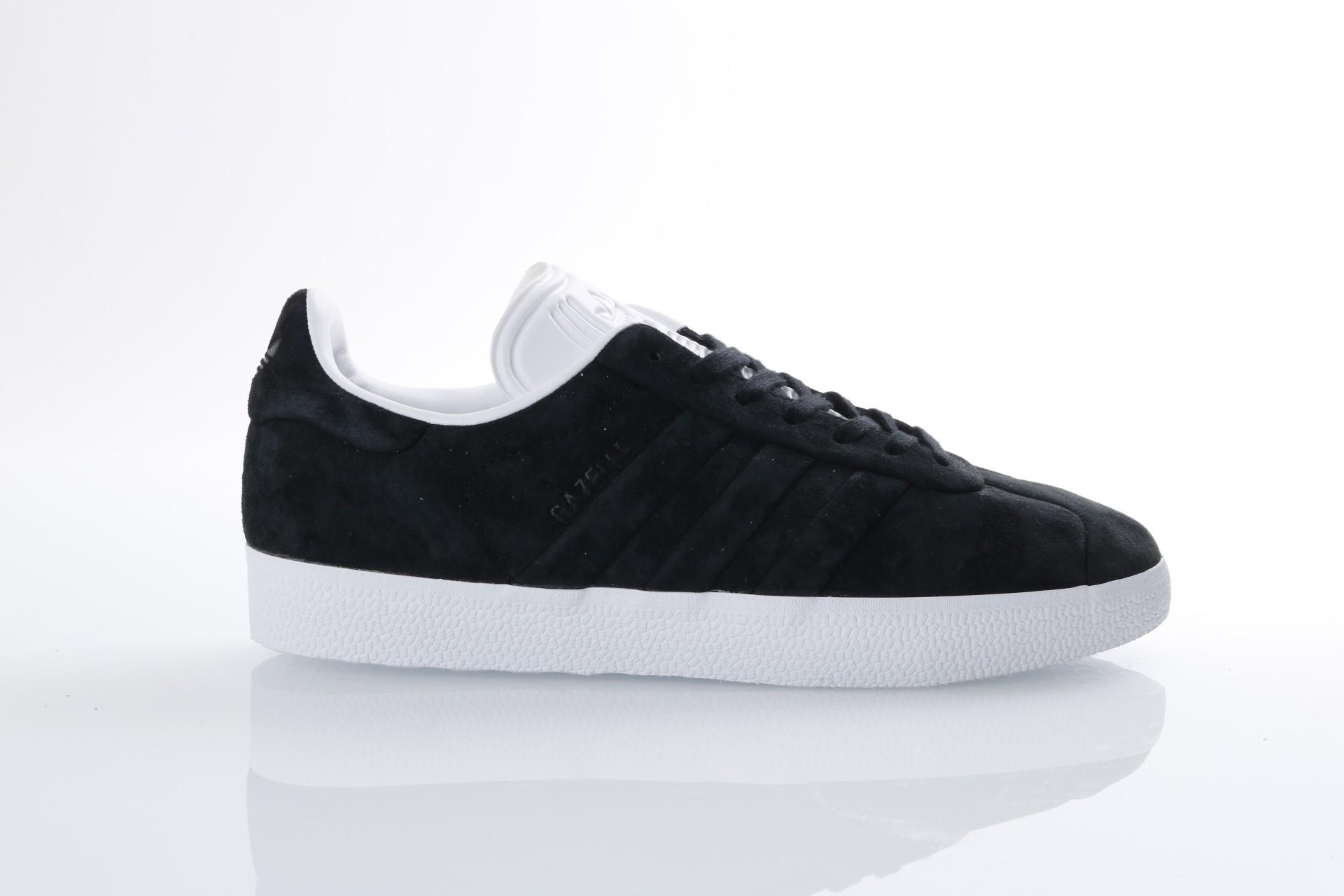 Foto van Adidas Originals CQ2358 Sneakers Gazelle stitch and turn Zwart