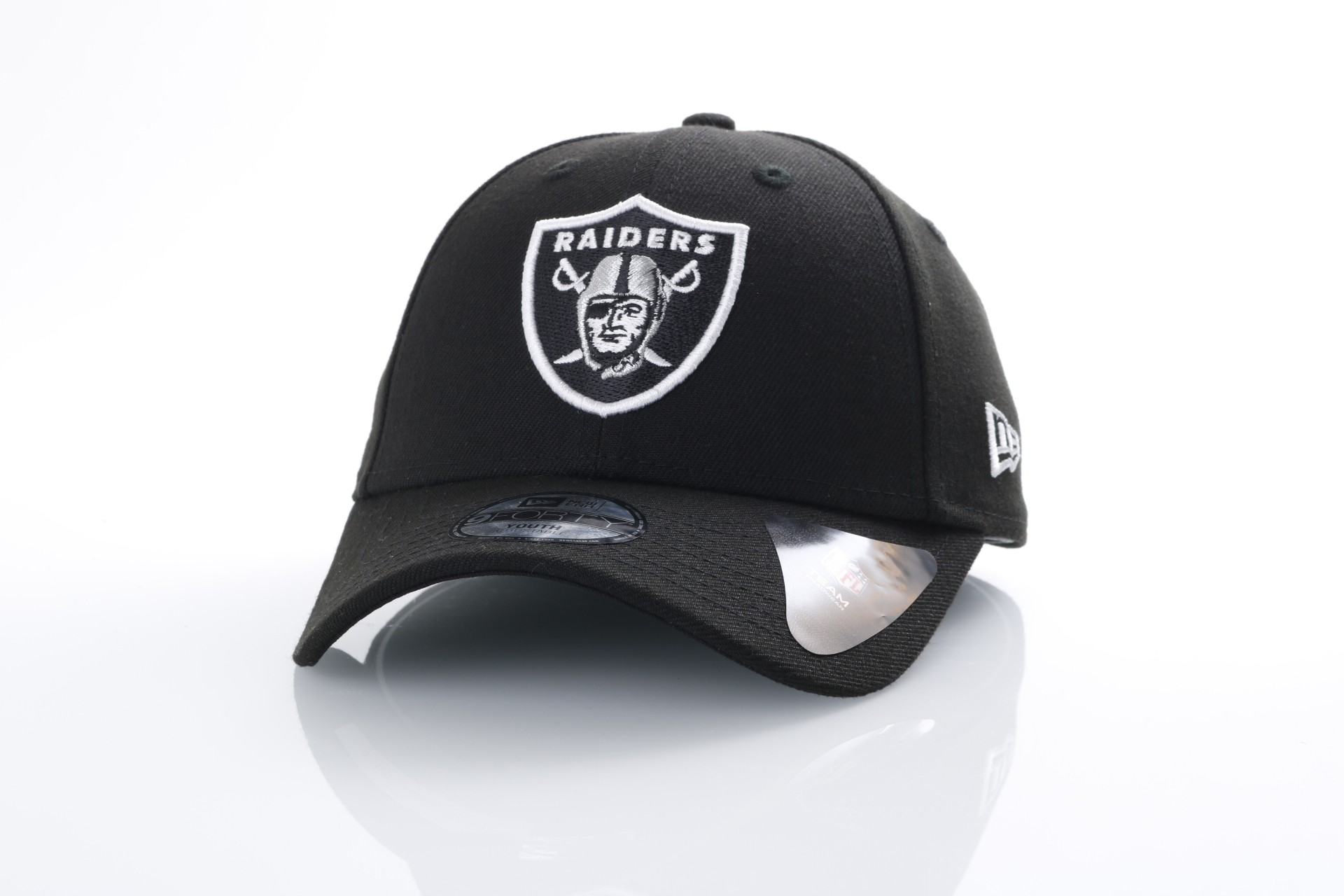 Foto van New Era Kids 11355743 Dad cap Kids NFL league Oakland Raiders Official team colors