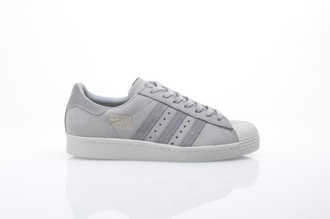 Afbeelding van Adidas Originals BZ0208 Sneakers Superstar 80s leather Grijs