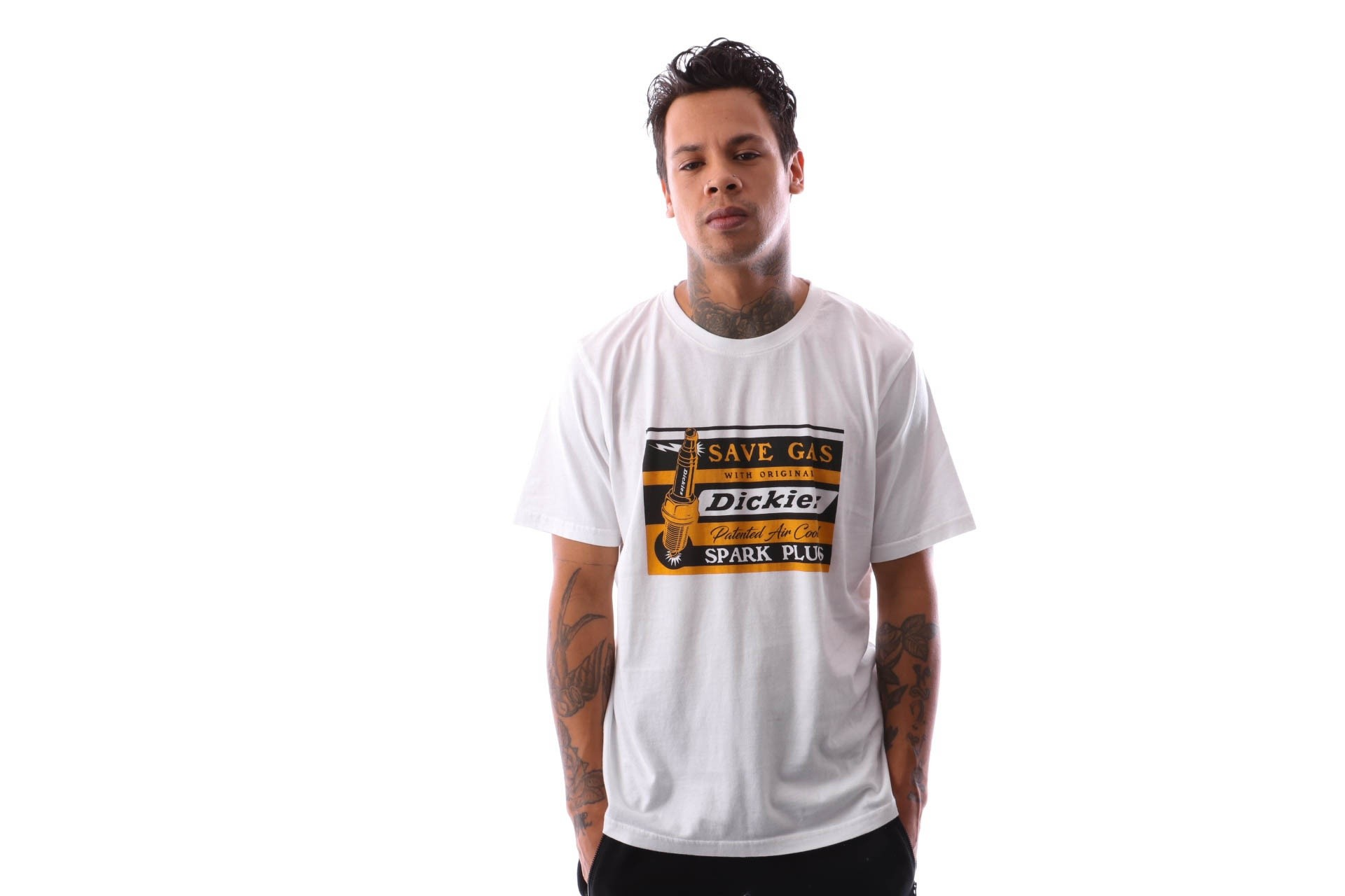 Foto van Dickies Jarratt 06 210613 T shirt White