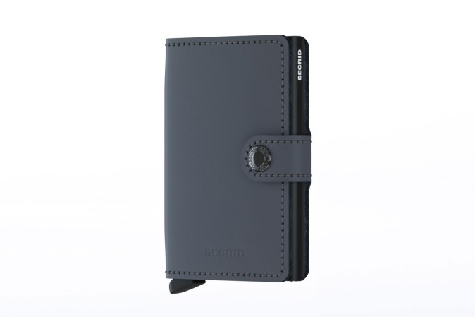 35cb4252fe0 Secrid MM-GREY/BLACK Wallet Miniwallet matte Grey/Black - Go-Britain.nl