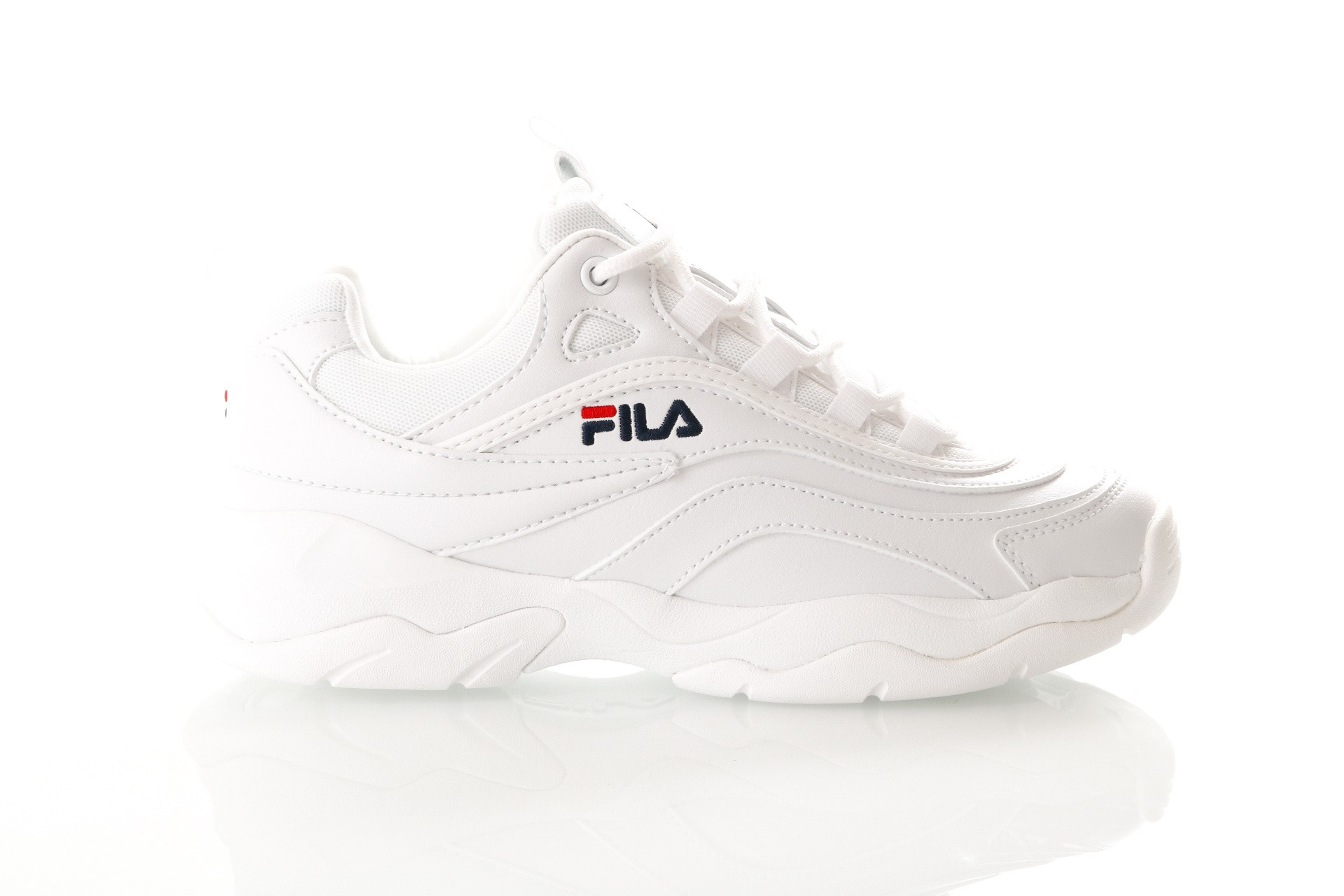 Foto van Fila Ray Low Wmn 1010562 Sneakers White