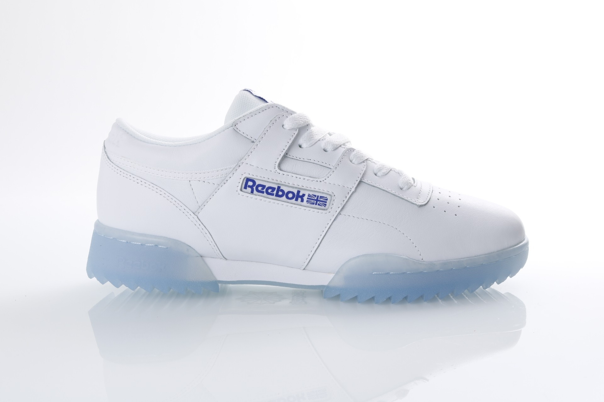 Foto van Reebok CM9931 Sneakers Workout clean ripple ice Wit