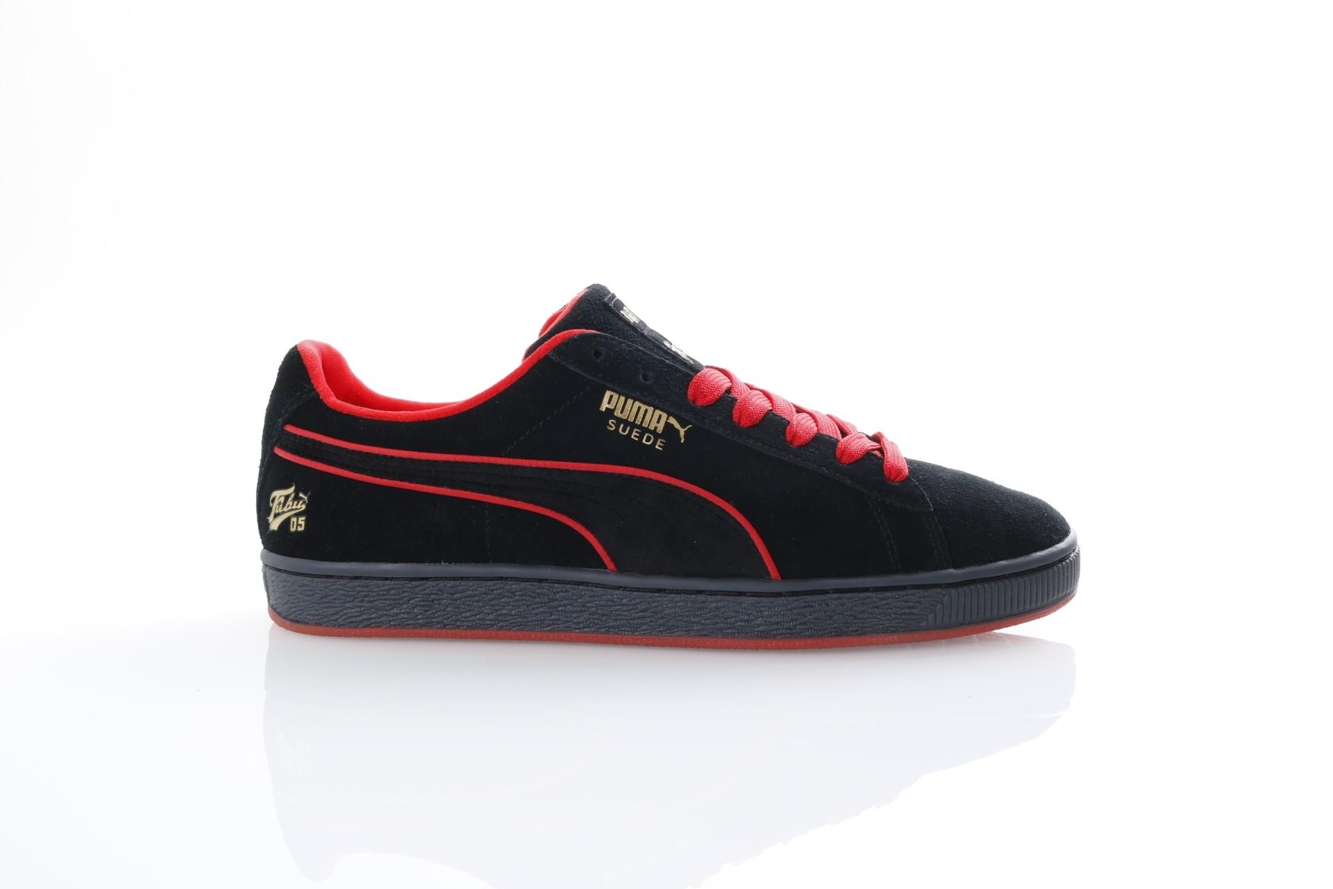 Foto van Puma X Fubu 366320-02 Sneakers Suede classic Zwart
