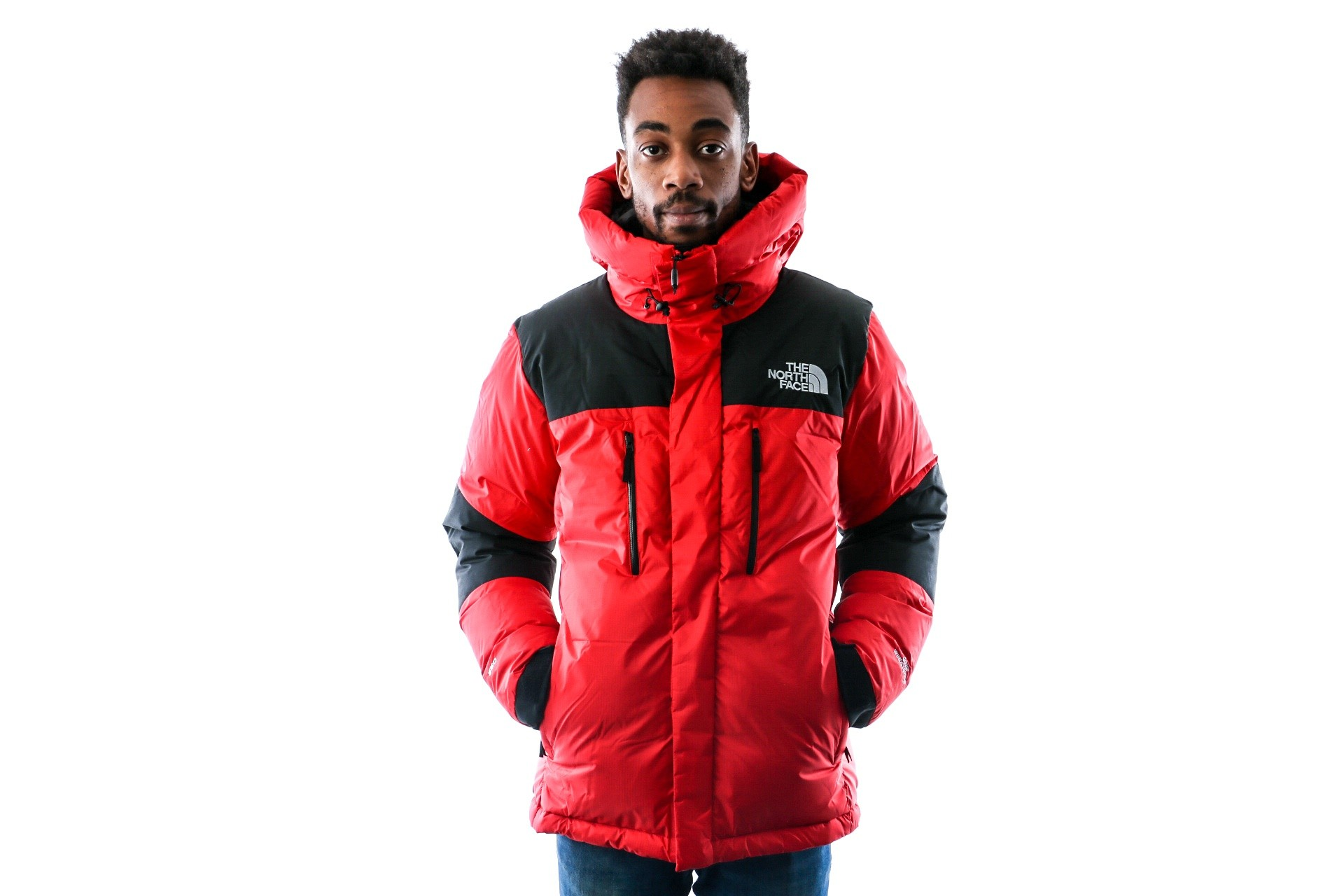 Foto van The North Face M ORIG HIM GTX DOWN T93L2LKZ3 jas TNF RED/TNF BLACK