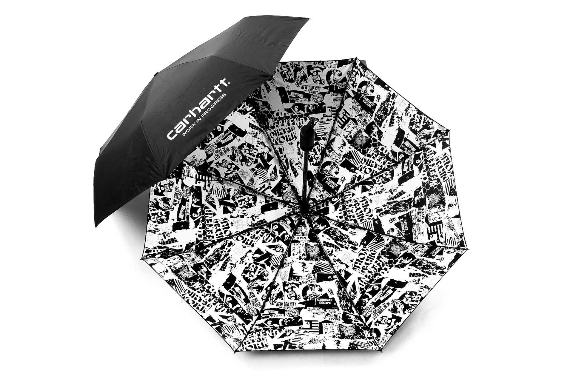 Foto van Carhartt WIP Collage Umbrella I026067 Paraplu Black