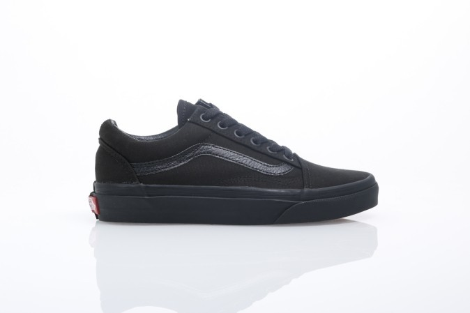 Foto van Vans Classics VD3H-BKA Sneakers Old skool Zwart