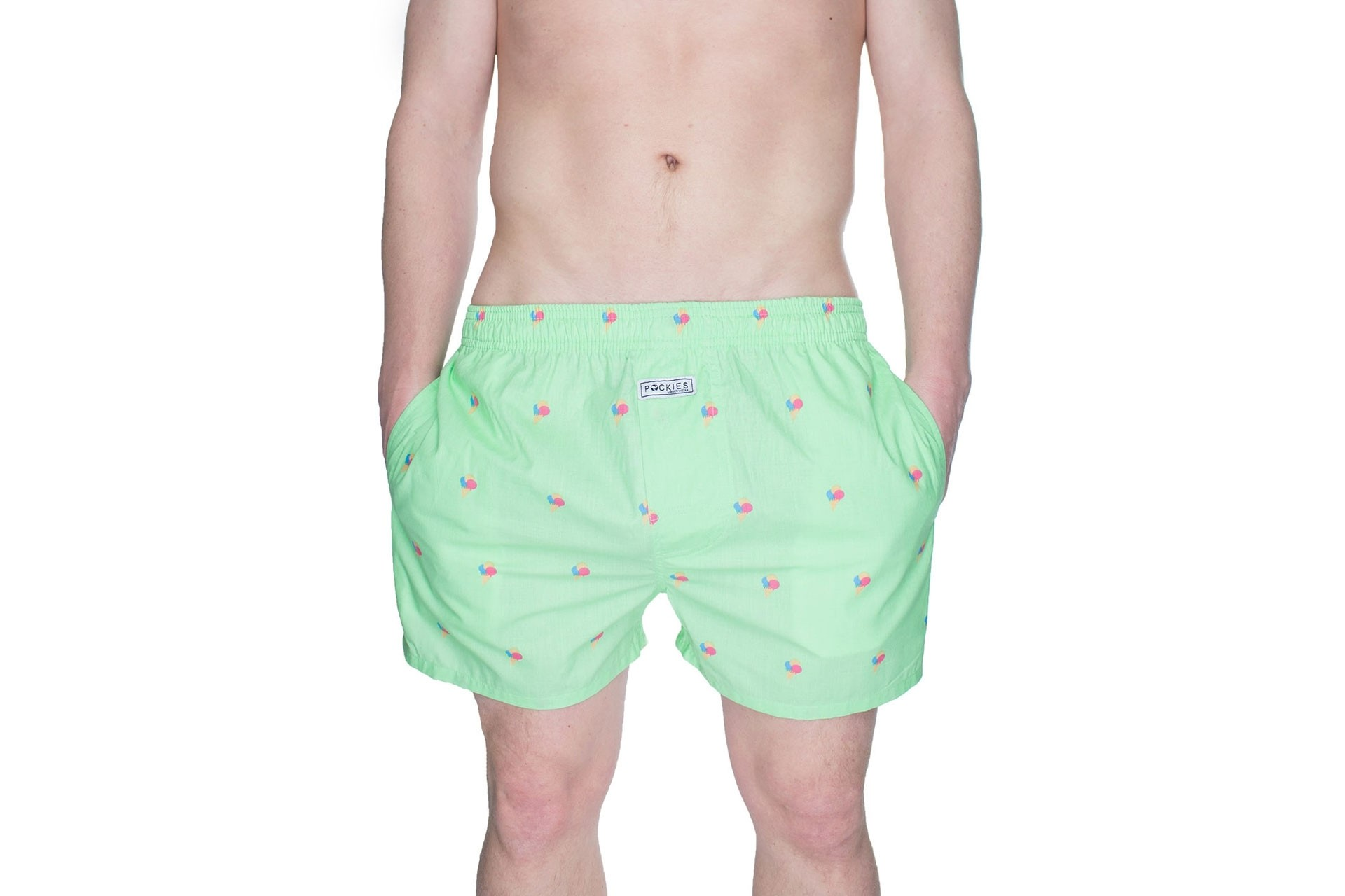 Foto van Pockies Boxershort Ice Cones 2.0 Mint Green - Ice Cones