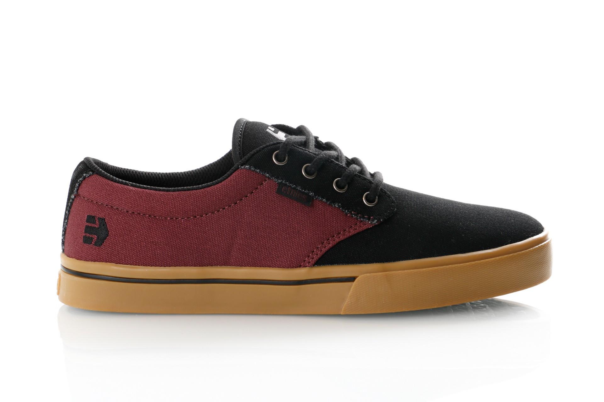 Foto van Etnies Jameson 2 Eco 4101000323 Sneakers Black/Red/Gum