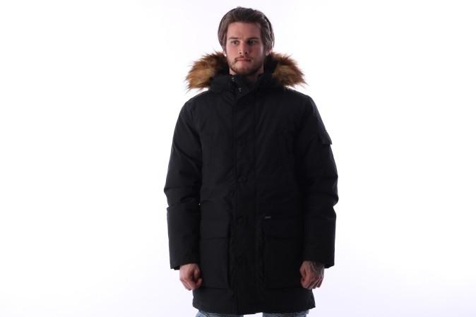 Foto van Carhartt WIP I023078-8900 Jacket winter Yukon parka Zwart