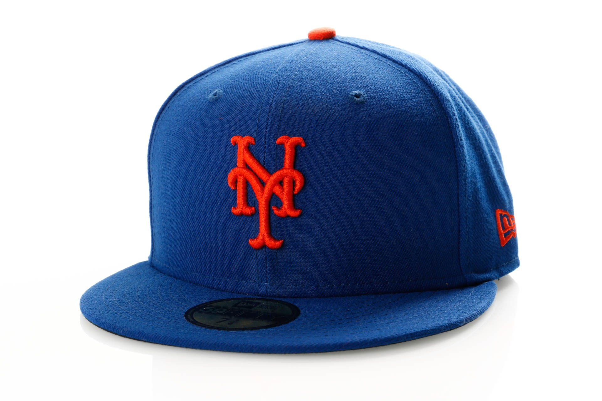 Foto van New Era Ac Perf 59Fifty 70360938 Fitted Cap Offical Team Colour Mlb New York Mets
