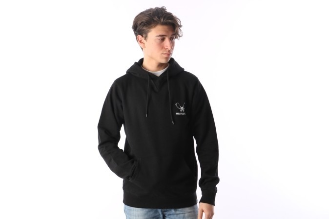 Foto van Rib.Eye.Steak RES-FW17-001 Hooded Cleaver logo Zwart