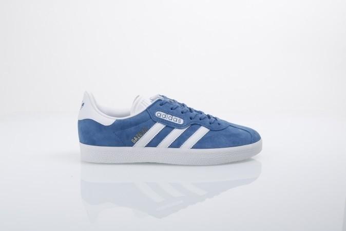 Foto van Adidas Originals CQ2792 Sneakers Gazelle super essential Blauw
