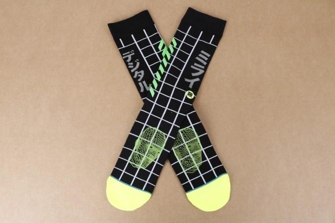 Foto van Stance M545D16FUD-BLK Socks Future digital Zwart