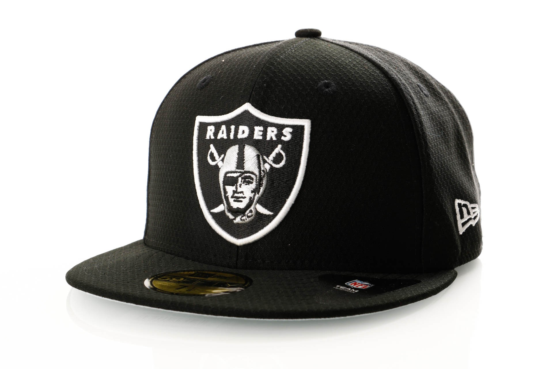 Foto van New Era Hex Era 11945702 Fitted Cap Team Colour Oakland Raiders
