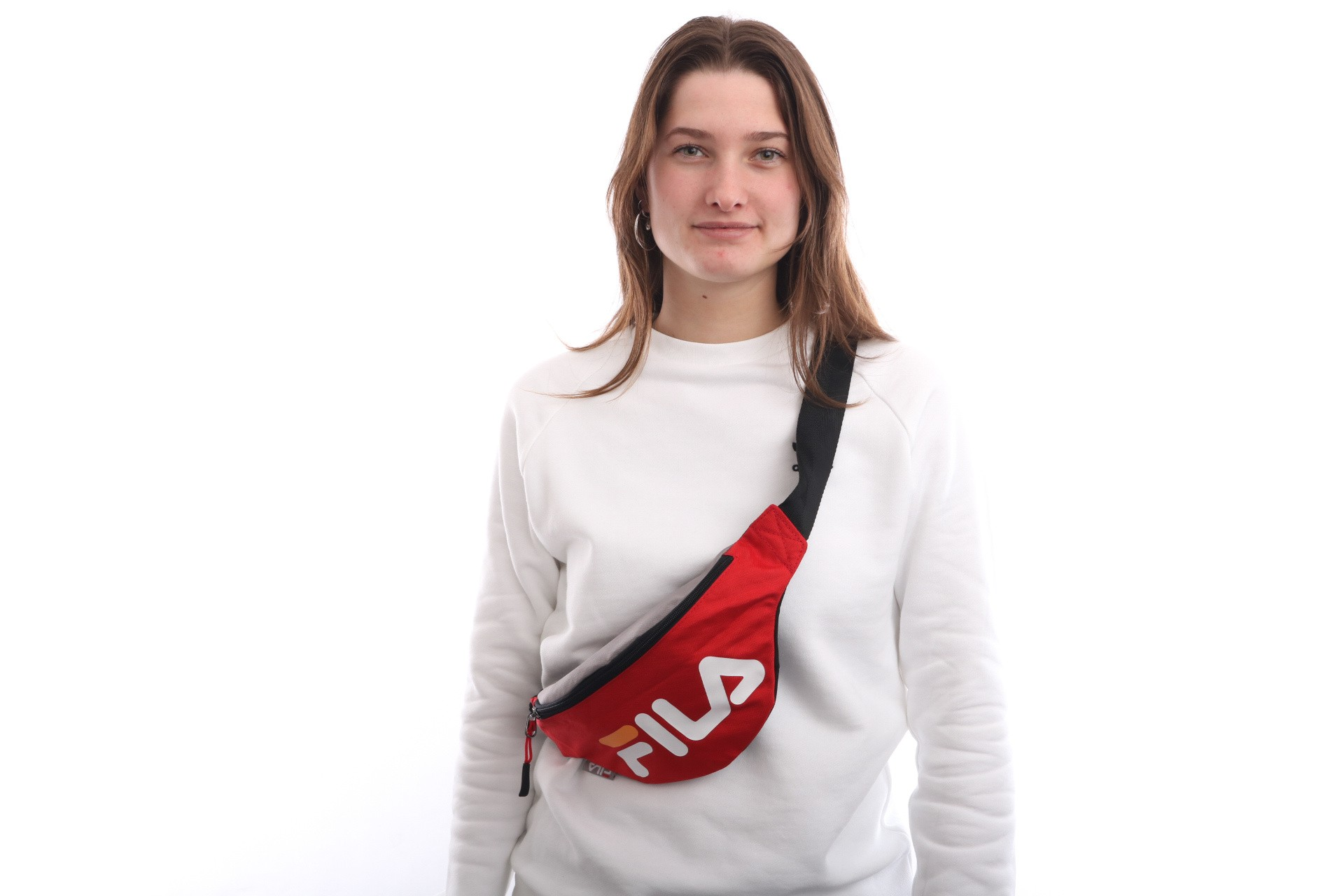 Foto van Fila Waist Bag Slim 685003 Heuptas Col Block Fiery Red