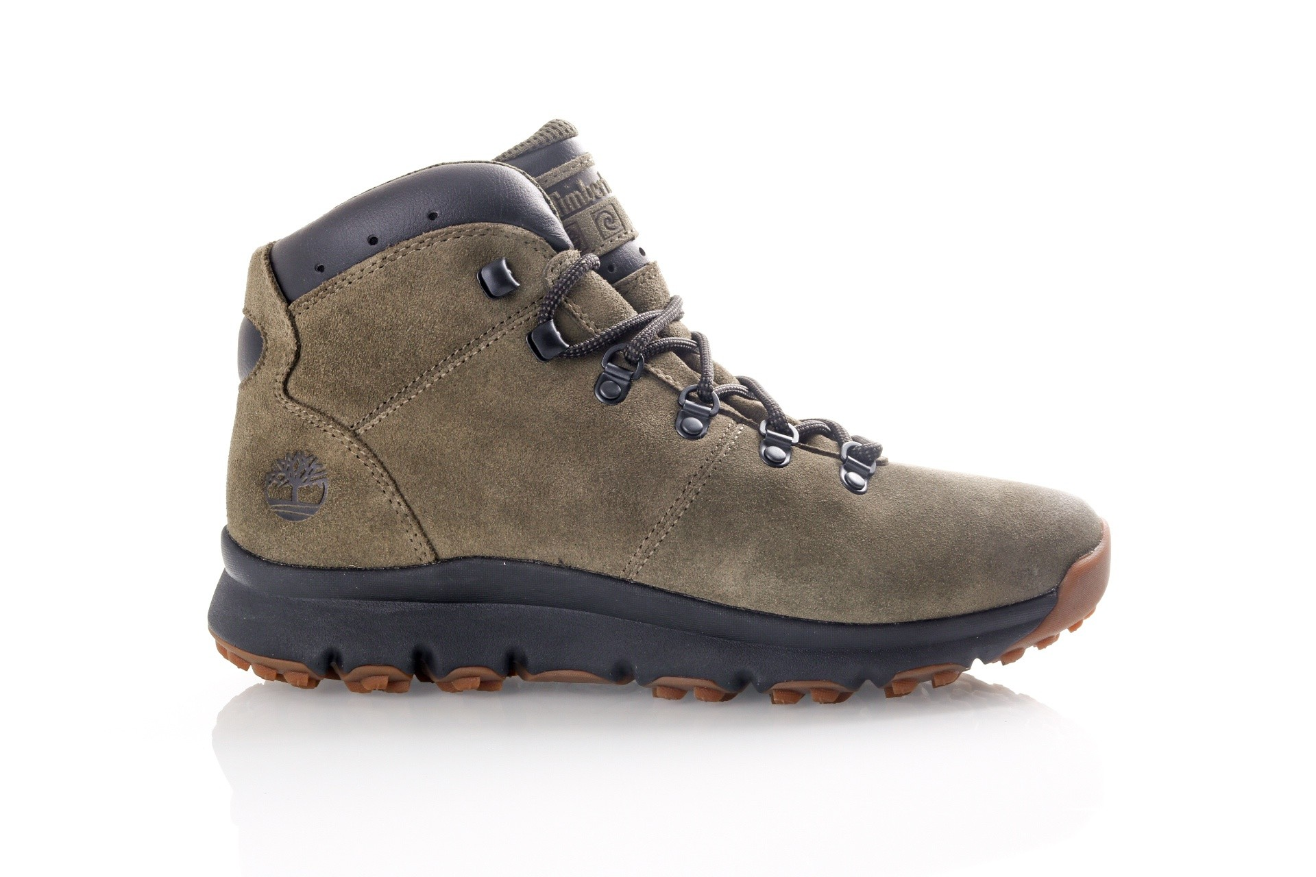 Foto van Timberland World Hiker Mid TB0A1RJWA581 Sneakers GRAPE LEAF
