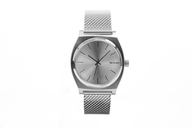 Afbeelding van Nixon A1187-1920 Watch Time teller milanese Zilver