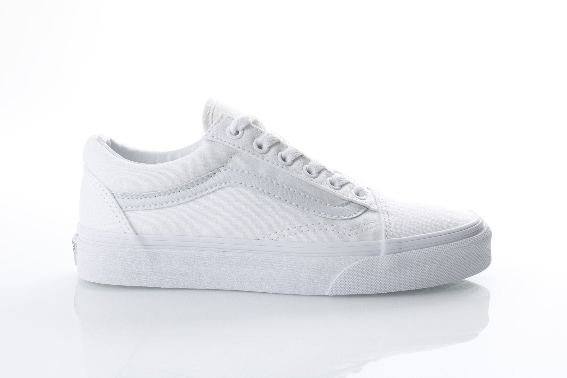 Foto van Vans Classics Sneakers Old skool True white VD3H-WOO