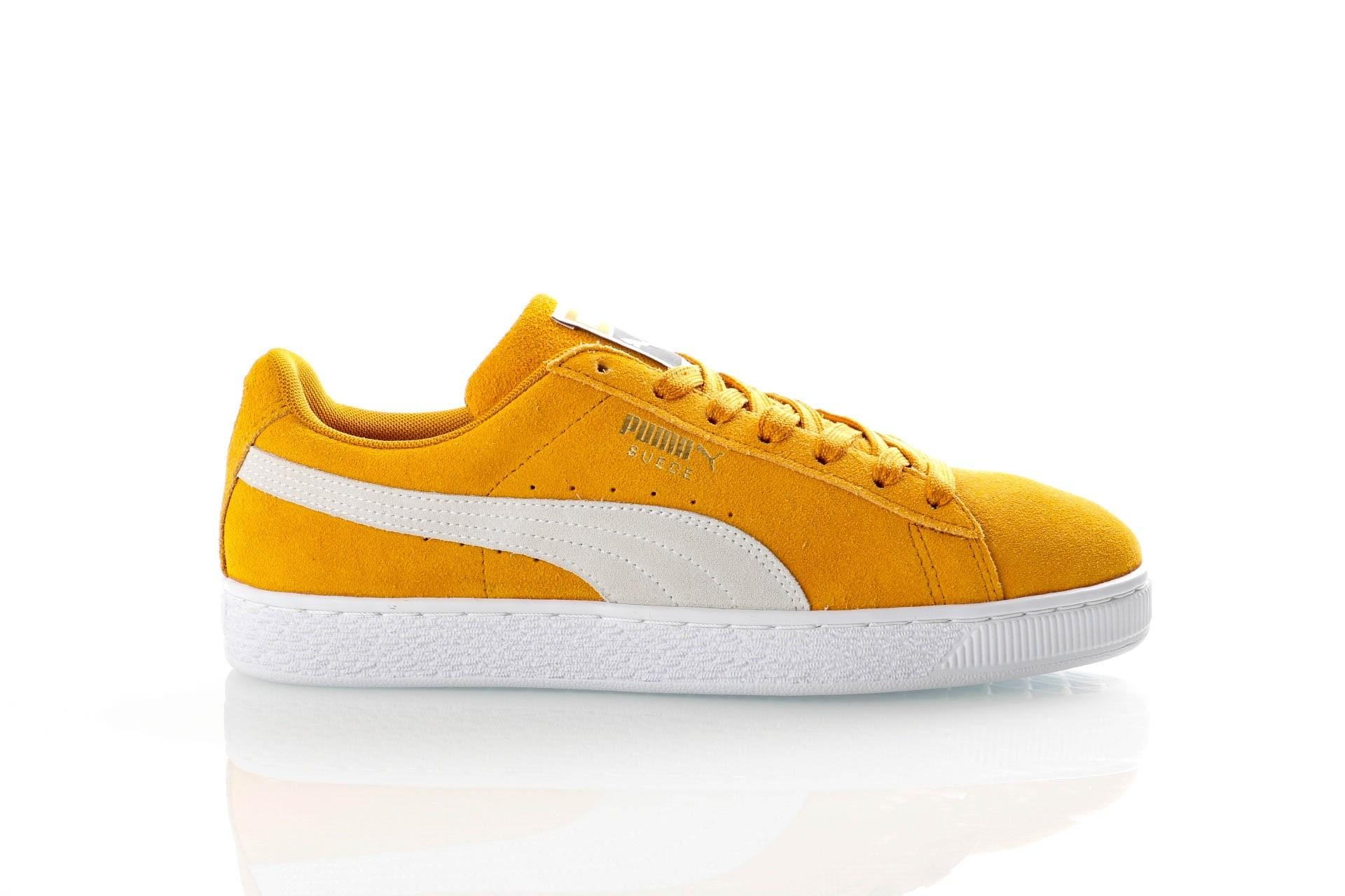 Foto van Puma Suede Classic 365347 Sneakers buckthorn brown-puma white-puma white