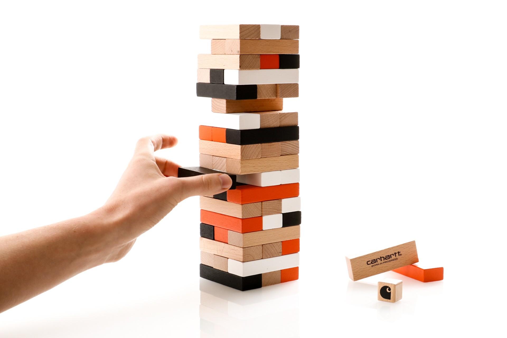 Foto van Carhartt Wip Stacking Blocks Game I027450 Spel Multicolor