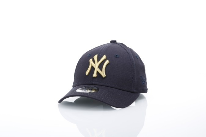 Afbeelding van New Era Kids 80536300 Dad cap JR golden 940 NY Yankees Blauw