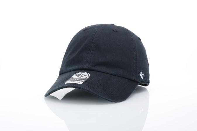 Foto van 47 Brand BL-GW00GWSNL-BK Dad cap Classic clean up Zwart