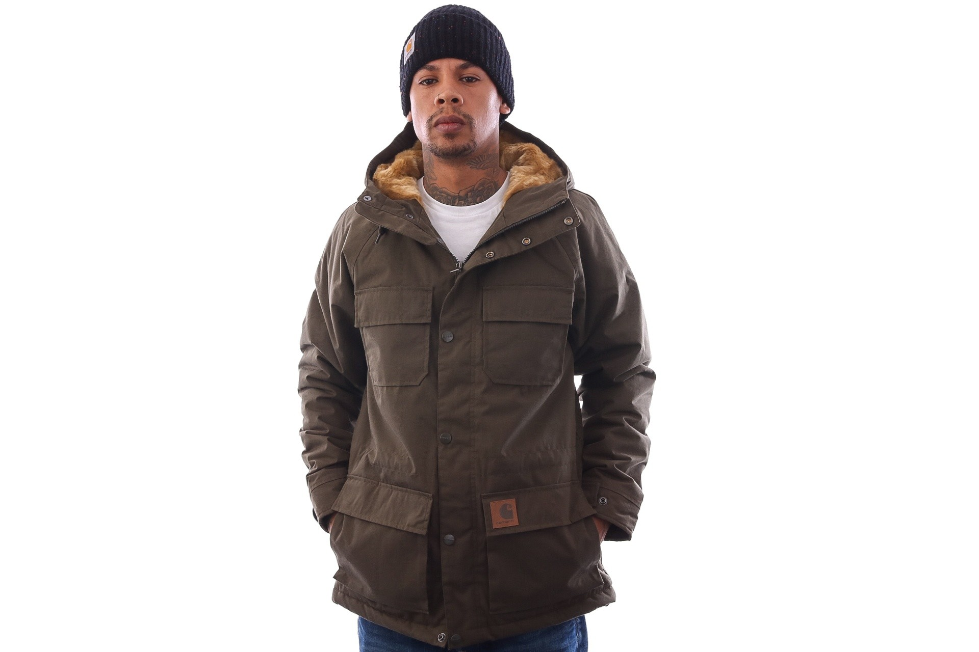 Foto van Carhartt WIP Mentley Jacket I021871 Jackets Cypress