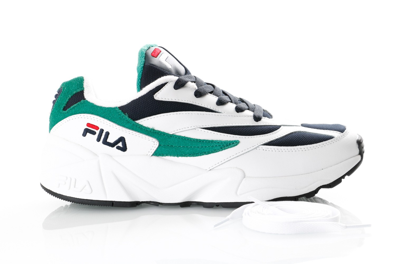 Foto van Fila V94M 1010255 Sneakers White/Fila Navy/Shady Glade