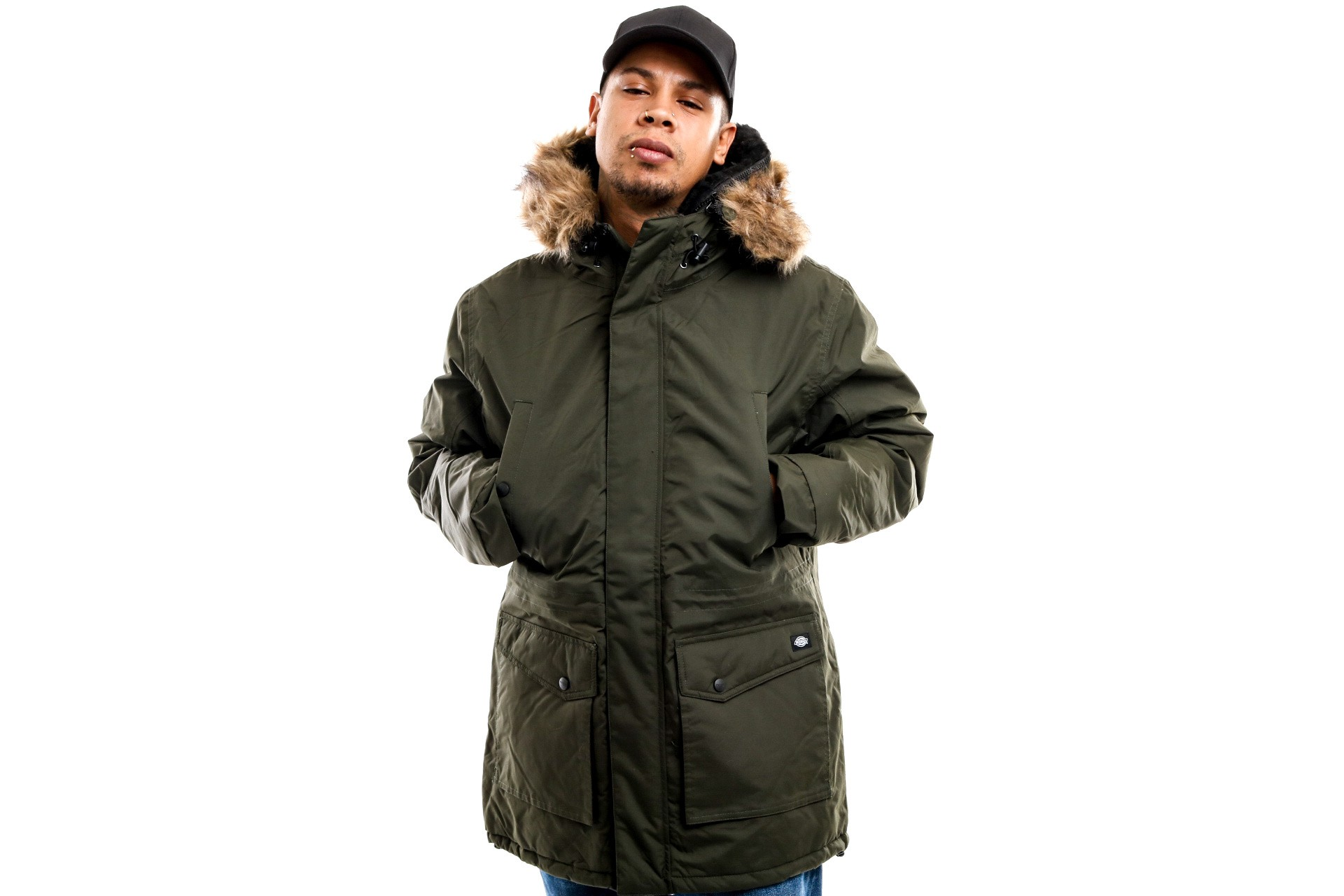 Foto van Dickies Curtis 07 200175 Jacket Olive Green