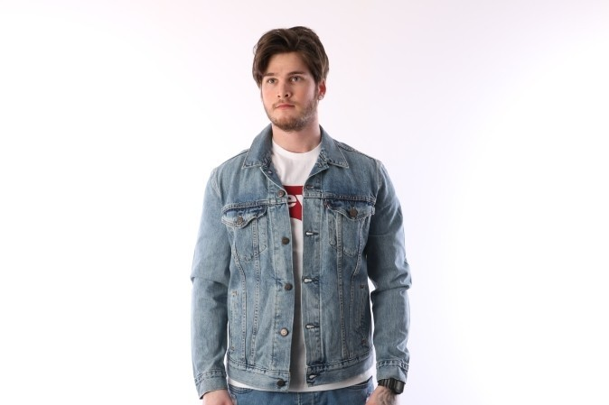 Foto van Levi's 72344-01460 Jacket The trucker Grijs