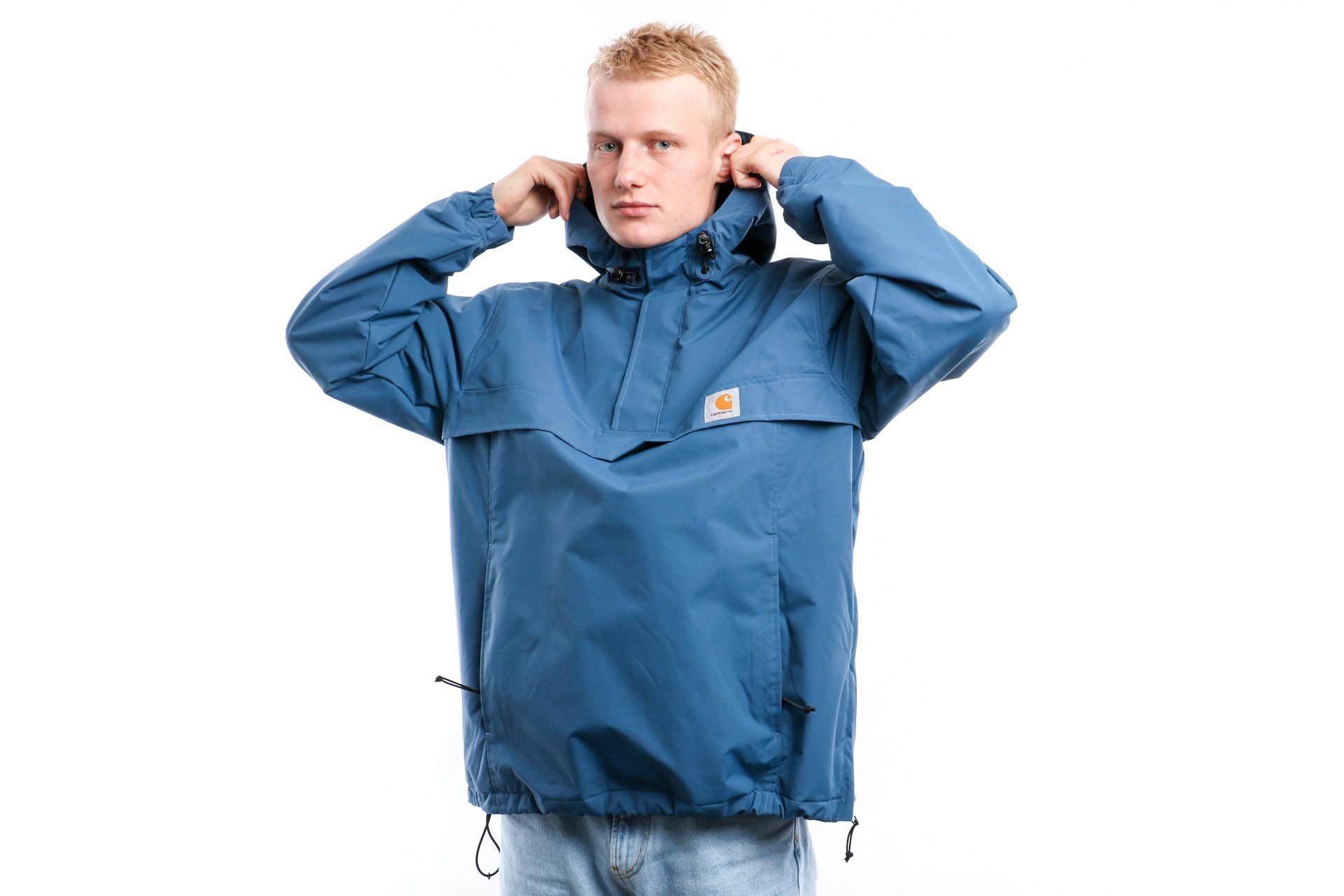 Foto van Carhartt Wip Nimbus Pullover I027639 Jacket Prussian Blue