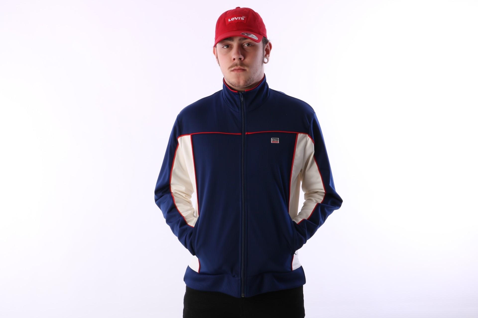Foto van Levi's 52437-0000 Tracktop Sportwear Blauw