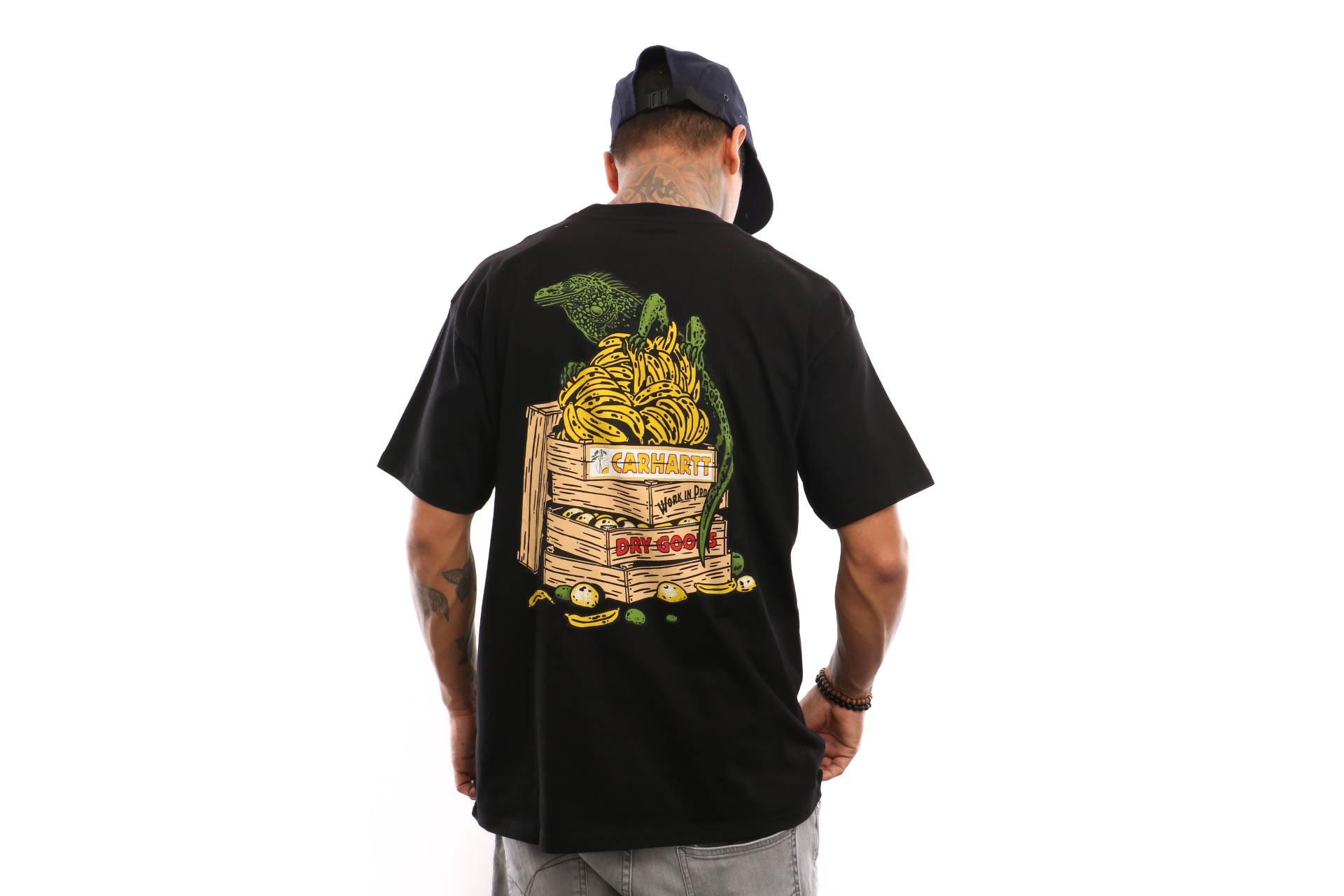 Foto van Carhartt WIP S/S Bad Cargo T-Shirt I026440 T shirt Black