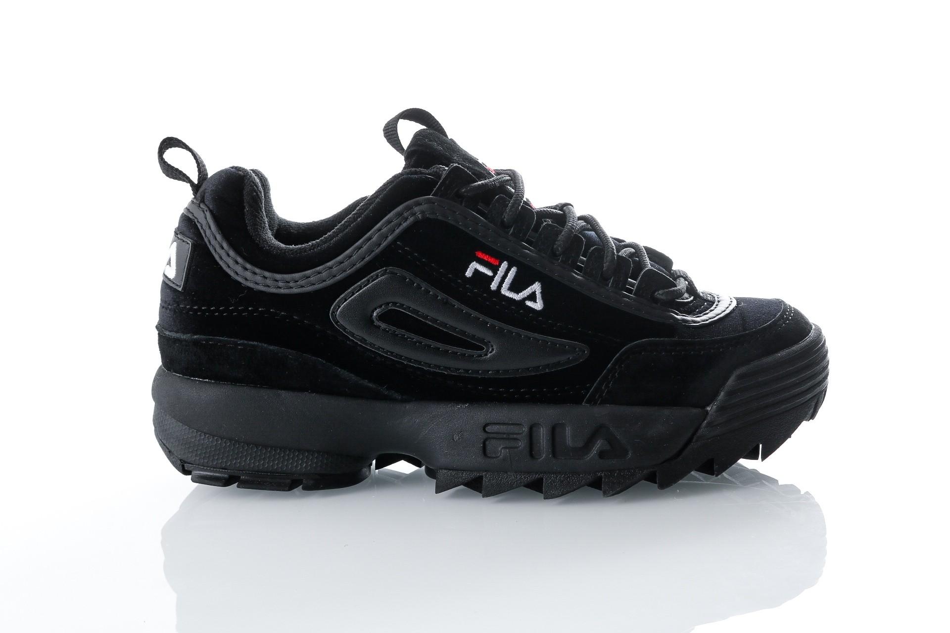 Foto van Fila Disruptor V low wmn 1010440 Sneakers black/black