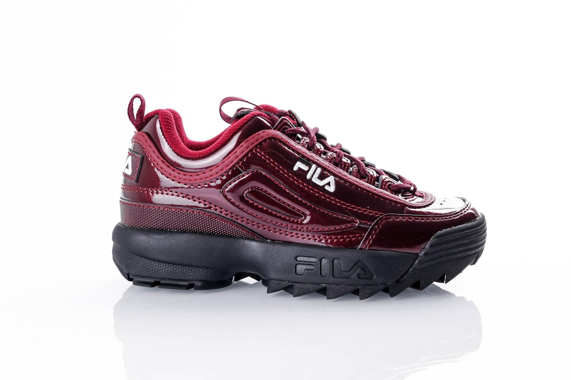 Foto van Fila Disruptor M low wmn 1010441 Sneakers marsala (patent)